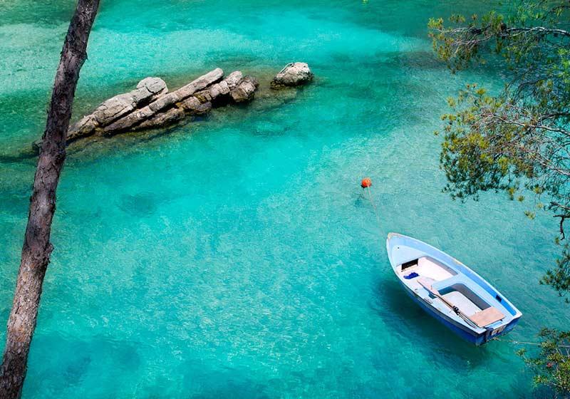 Il mare limpido dell'isola d'Elba
